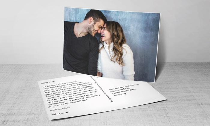 Postkarte mit eigenen Fotos vom Smartphone per Postando App inkl. Porto verschicken (75% sparen*)