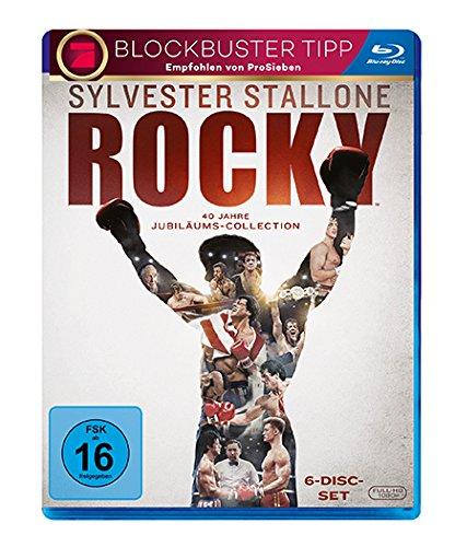 Rocky Saga - Filme 1 bis 6 auf Blu-ray für 17,84€ (Amazon Prime)