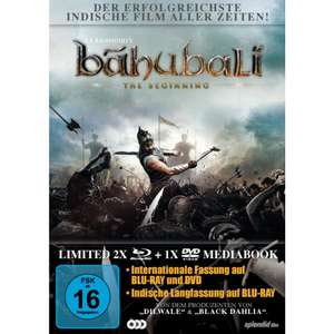 Bahubali - The Beginning (2x Blu-ray + DVD) - Limited Mediabook für 4,99€ (Müller)