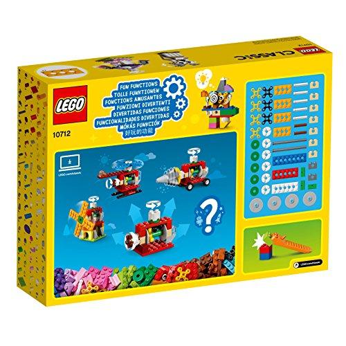 [Amazon oder Dodax] LEGO Classic 10712 - Bausteine-Set, Zahnräder, Bunt