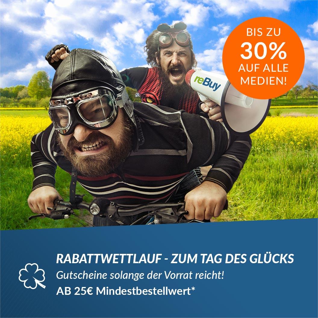 ReBuy Gutscheine (10%–30%) - begrenzte Stückzahl – schnell sein!