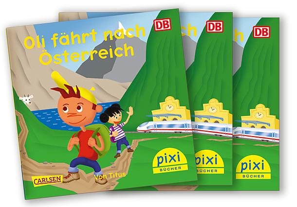 """Pixibuch """"Oli fährt nach Österreich"""" kostenlos bestellen !"""