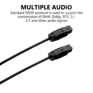 Toslink Optical SPDIF Audio Kabel 1 Meter für 0,28€ (Zapals)