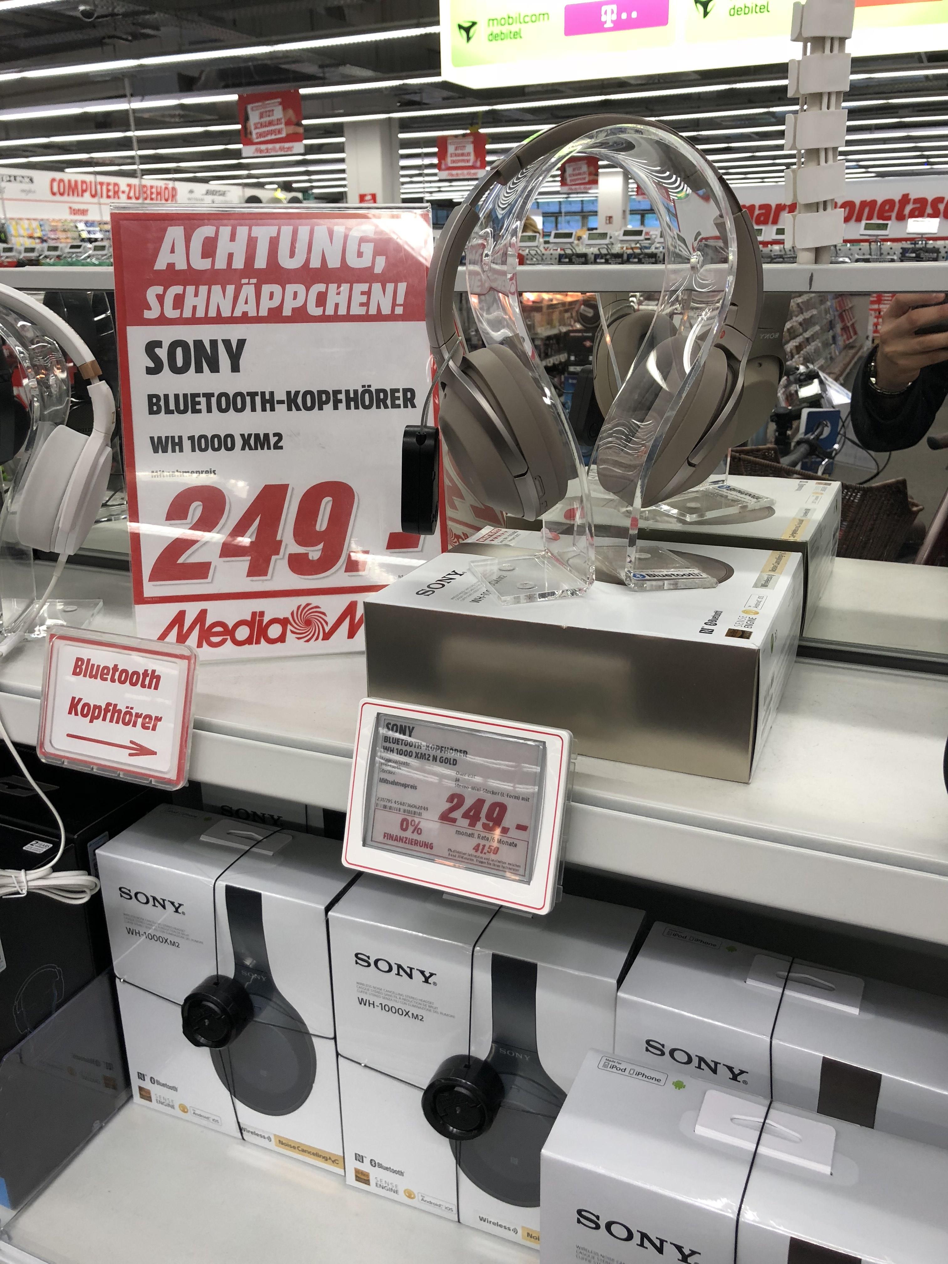 Sony WH-1000XM2 [Lokal MM Dessau]