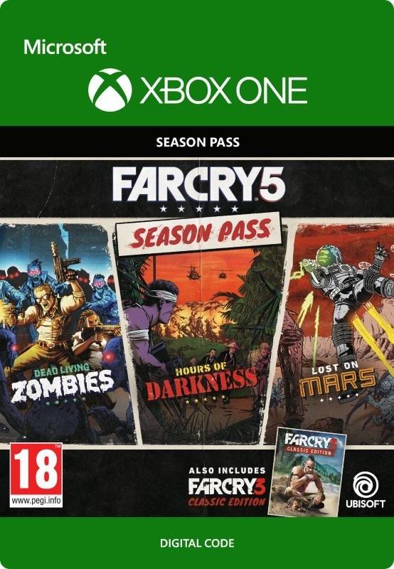 Far Cry 5 Season Pass (XBox One Digital Code) für 23,83€ (CDKeys)