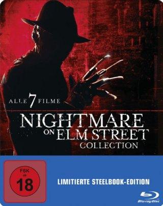 Nightmare On Elm Street Collection Limited Steelbook Edition (Blu-ray) für 25€ versandkostenfrei (Media Markt)