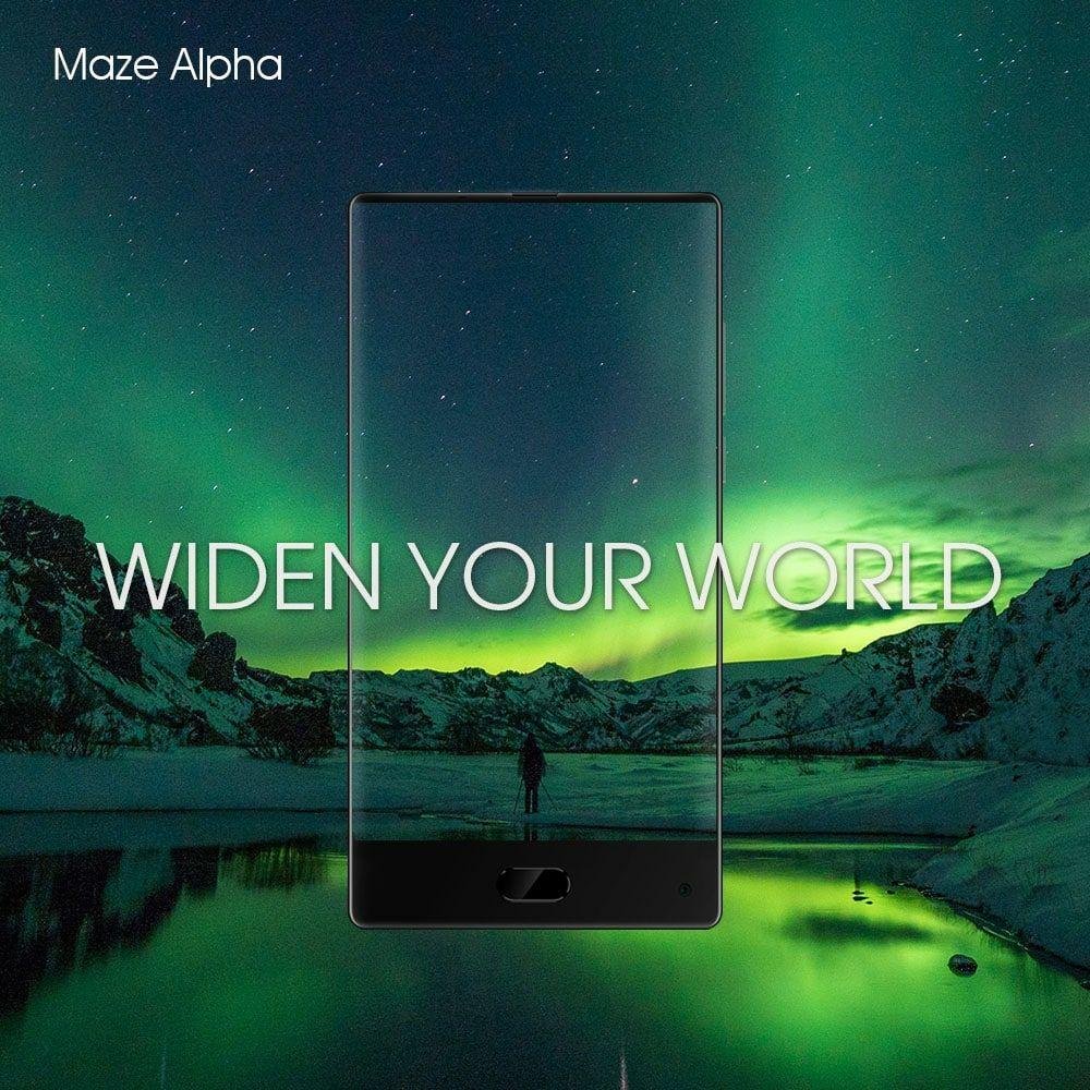 Maze Alpha 64GB/ 4GB RAM für 106€ inkl. Versand bei Gearbest