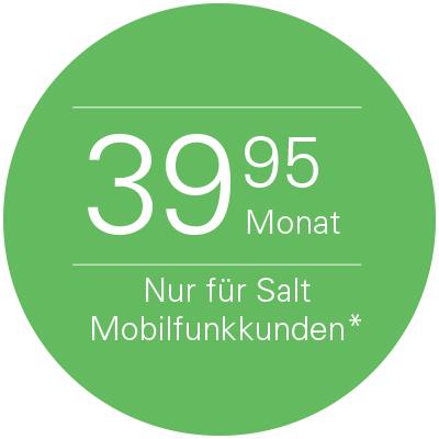 [SCHWEIZ] SALT. - 10Gbit Internet/TV/Telefonflat - 42.70€ / 49.94 CHF
