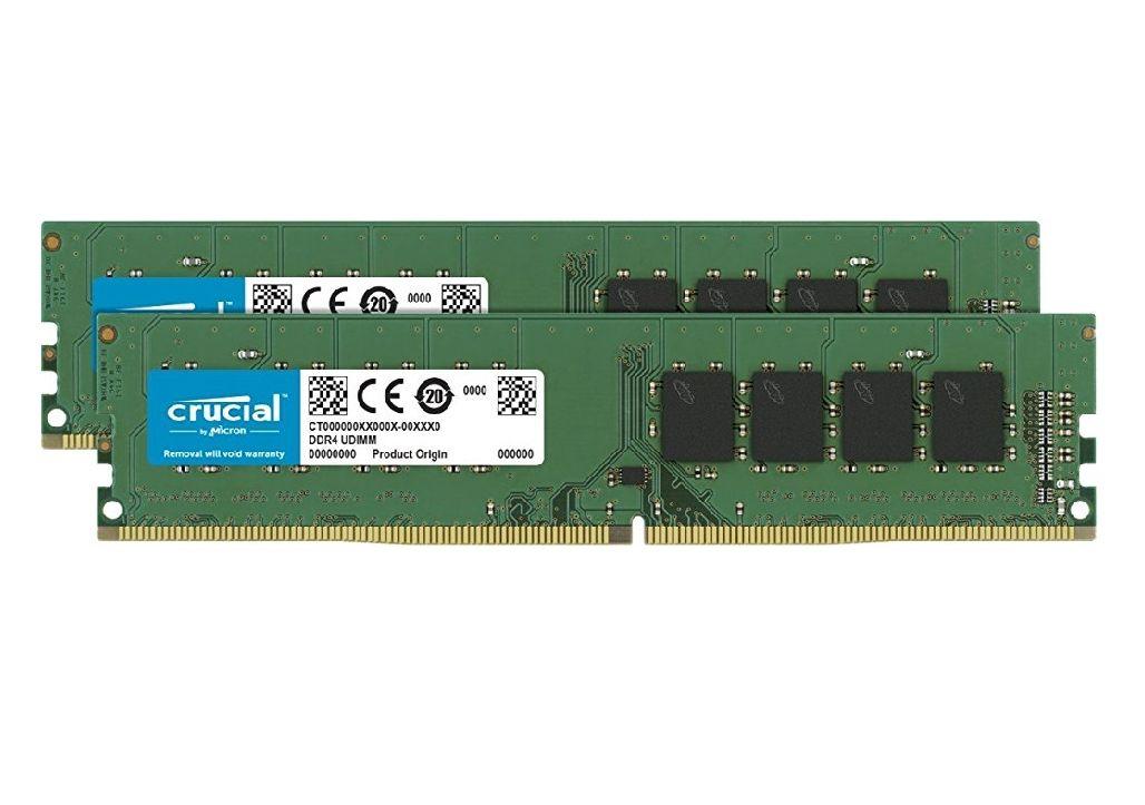 Crucial 16gb DDR4 2400 RAM Kit