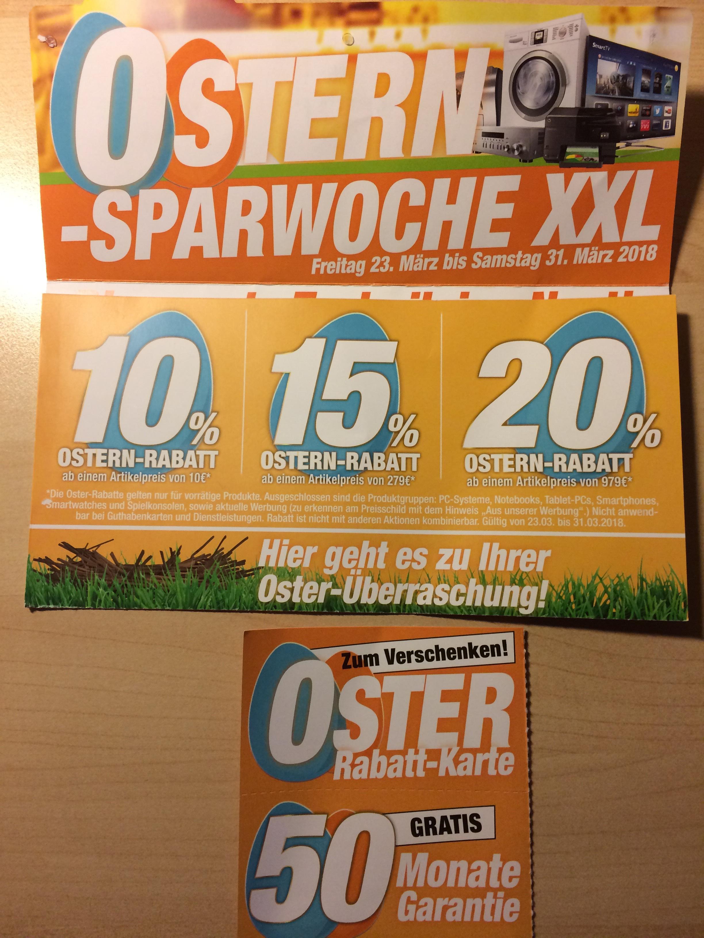 Expert Osterdeals - bis 20 % Rabatt + 50 Monate Garantie geschenkt