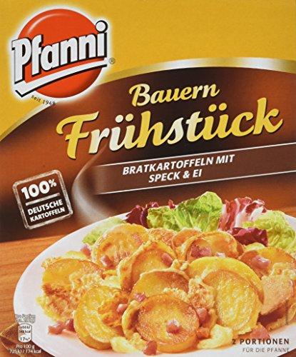 ( Amazon Prime ) Frei Haus Pfanni Kartoffelfertiggericht Bauern Frühstück Bratkartoffeln mit Speck & Ei 2 Portionen, 5er Pack