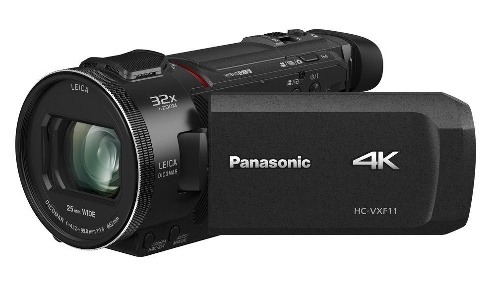 Panasonic HC-VXF11EG-K 4K Camcorder (LEICA DICOMAR Objektiv mit 24x opt. Zoom, 4K und Full HD Video, optischer Bildstabilisator) [BESTPREIS]