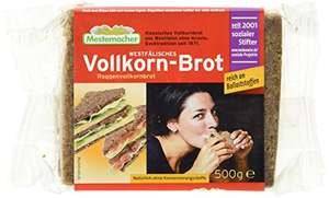 [Amazon Plus Produkt] Mestemacher Vollkornbrot,Westfälisch, 6er Pack (6 x 500 g Packung)