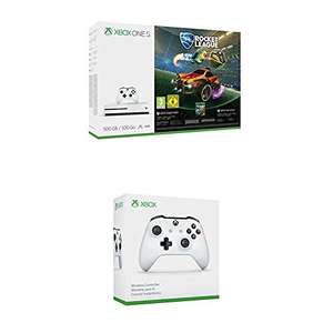 [amazon] Xbox One S 500GB Konsole  + Wireless Controller Weiß [ Rocket League, Assassin's Creed Origins oder Forza Horizon 3 + Hot Wheels DLC Bundle]
