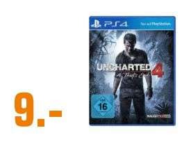 [Regional Saturn Ingolstadt] Uncharted 4: A Thief's End (PS4) für 9,-€