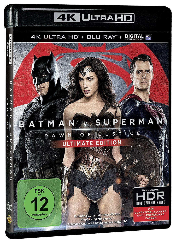 Batman V Superman: Dawn of Justice (Ultimate Edition) (UHD)