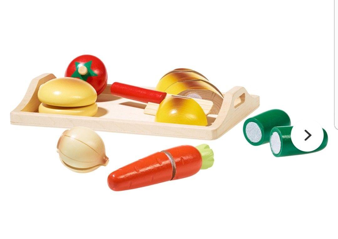 Ernstings Family Online - Eichhorn Schneidebrett - Set Gemüse - für Kinder