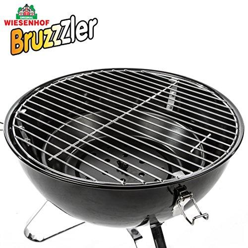 Amazon Bruzzzler tragbarer Kugelgrill - Picknickgrill für Holzkohle 14,54 Euro