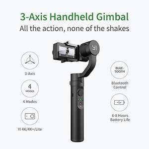 YI Action Gimbal (2 version YI Handheld Gimbal 2) released 2018 149,99€ für Prime