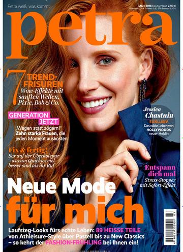 Petra Magazin Abo für 25,50 € mit 25 € Verrechnungsscheck
