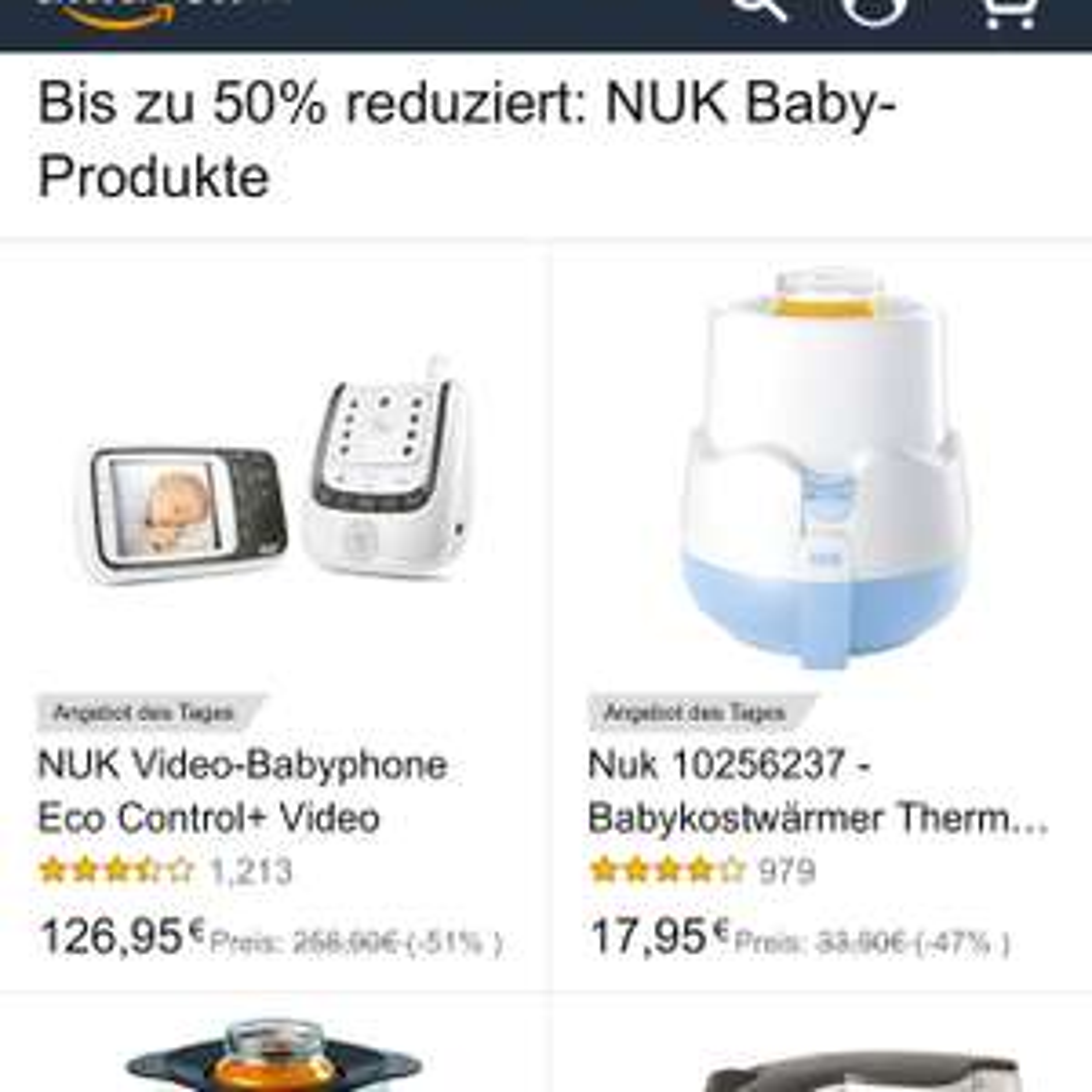 [Amazon] NUK mehrere Angebote