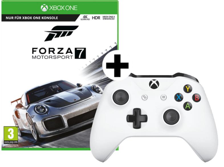 Forza Motorsport 7 + Xbox Wireless Controller für 60€ inkl. Versand nach DE [Mediamarkt.at]