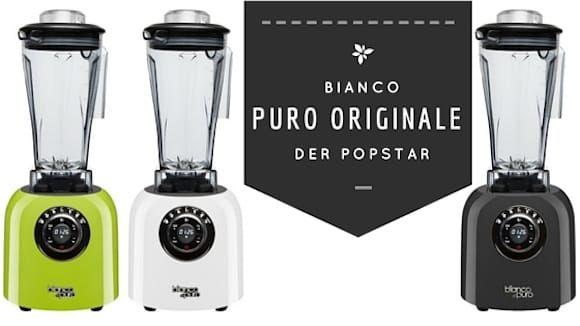 Bianco Di Puro Originale Hochleistungsmixer (verschiede Farben)