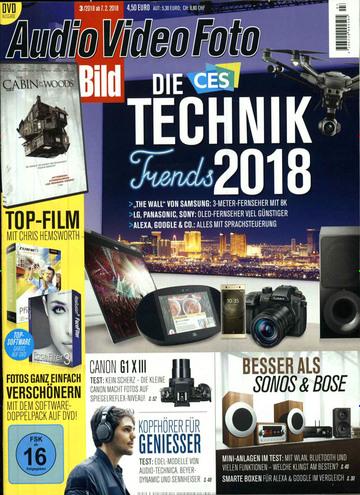 Audio Video Foto inkl. DVD Abo für 52,80 € mit 45 € Verrechnungsscheck