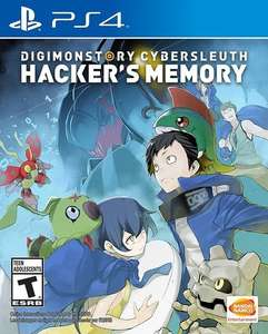 Digimon Story Cyber Sleuth: Hacker's Memory [PS4] bei Amazon.com für 24,30€