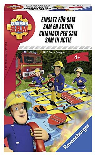 [Amazon Plus oder Dodax] Ravensburger 23430 - Fireman Sam: Einsatz für Sam Kinderspiel