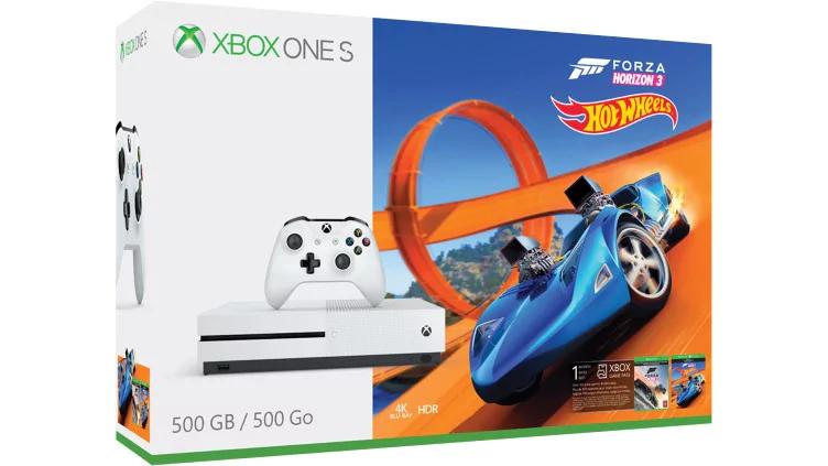 Xbox One S 500GB + Forza Horizon 3 inkl. Hot Wheels DLC oder Mittelerde: Schatten des Krieges für 177€ [Expert]