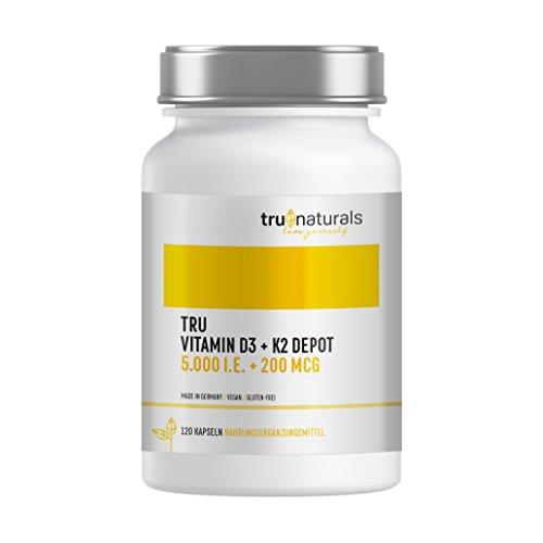 Amazon Angebot: 20% auf ein Vitamin D3 + K2 Produkt mit 120 Kapseln