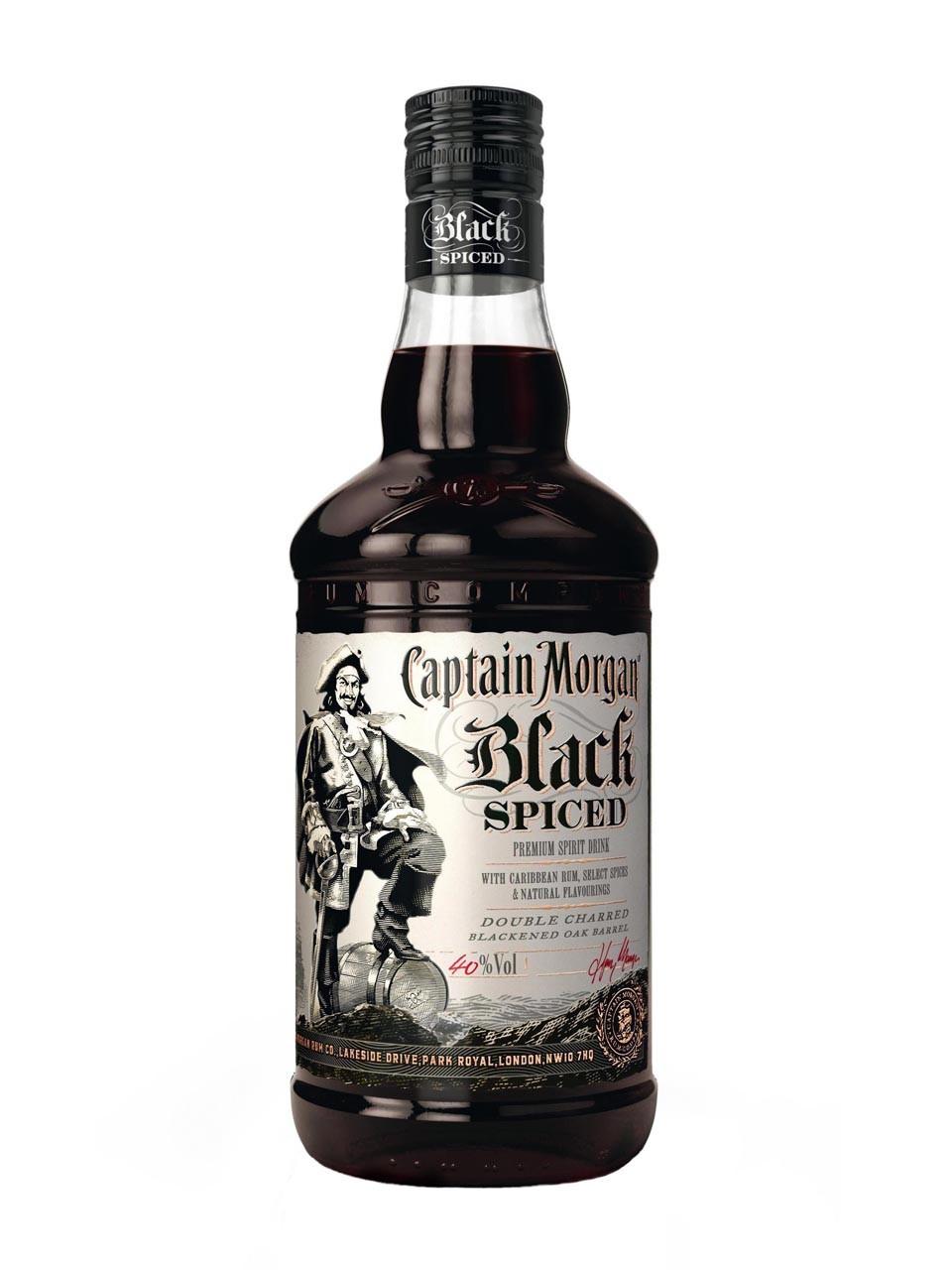 Rakuten: Captain Morgan Black Spiced