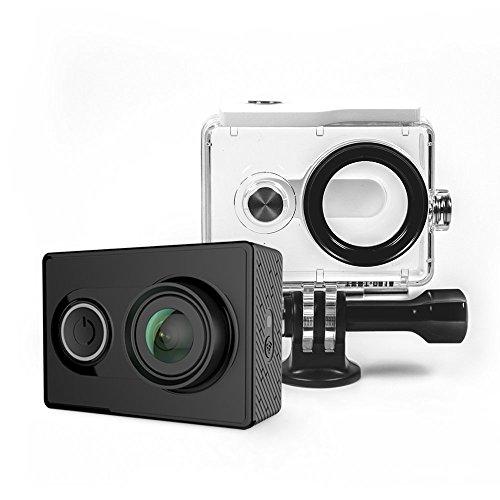 [Amazon] YI Action Kamera gebündelt mit Wasserfestem Gehäuse 16MP 2K 1080P/60fps mit 2.4G WIFI Bluetooth 4.0 - 39,98 Euro