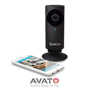 SpotCam HD Pro WiFi Überwachungskamera Cloud Wlan IP Kamera IFTTT IP65 ALEXA