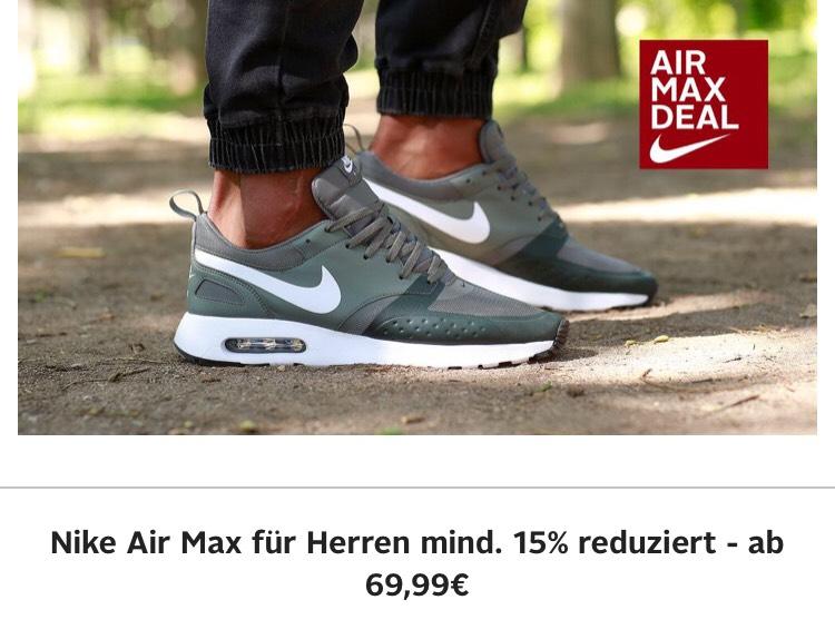 15% auf Nike Air Max bei Otto