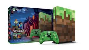 Xbox One S 1TB Konsole + Minecraft  - Limited Edition Bundle + Wireless Controller Weiß