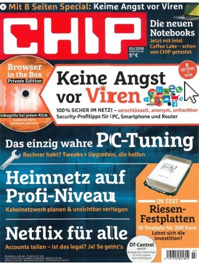 3x Chip mit DVD: 18,30 inkl. 15 EUR BestChoice und 5 EUR Cashback (über questler)