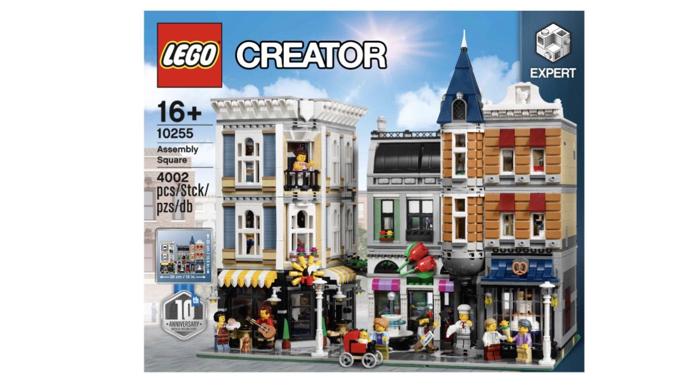 Lego Creator Stadtleben 10255 @GaleriaKaufhof.de