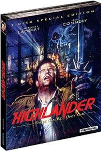 Highlander Special Edition Mediabook Blu-ray Remastered 2-Disc Version uncut