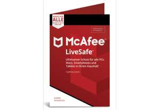 McAfee LiveSafe Device Attach (Code in a Box) Media Markt