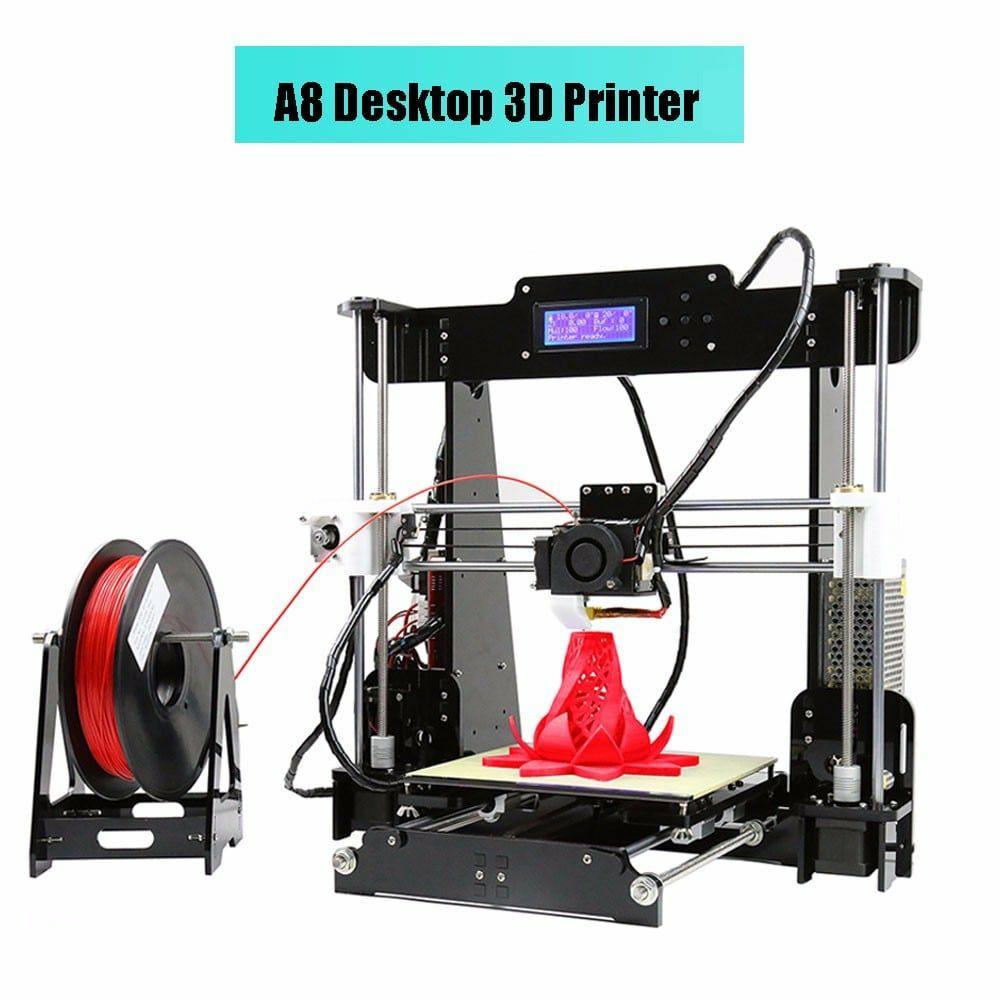 Einsteigermodell: 3D-Drucker Anet A8 für 122,49€ aus dem EU-Lager