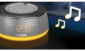 [WHD] Philips AJ5000/12 Radiowecker mit UKW/MW und Stimmungsvollem Licht
