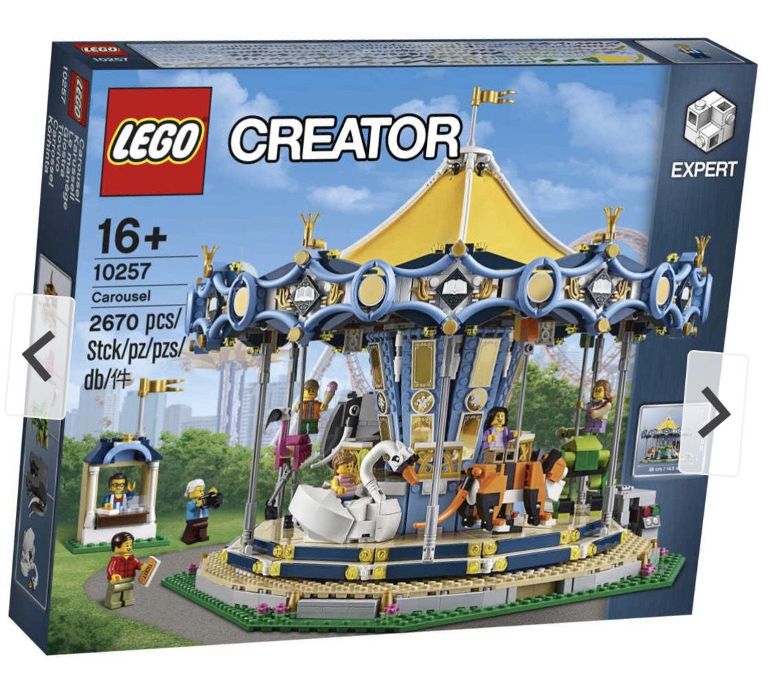 Lego 10257 Karusell Galerie Kaufhof