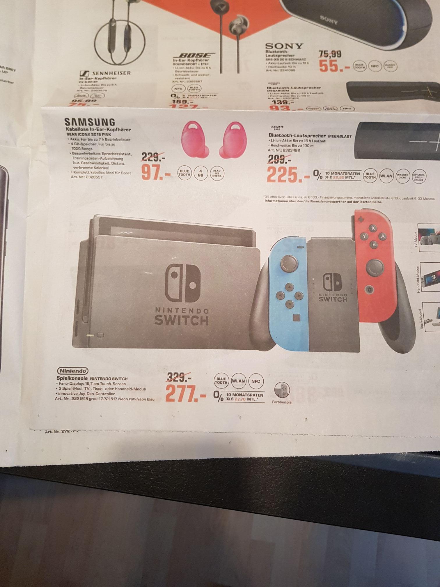 [Lokal - Saturn Jena] Nintendo Switch für 277€