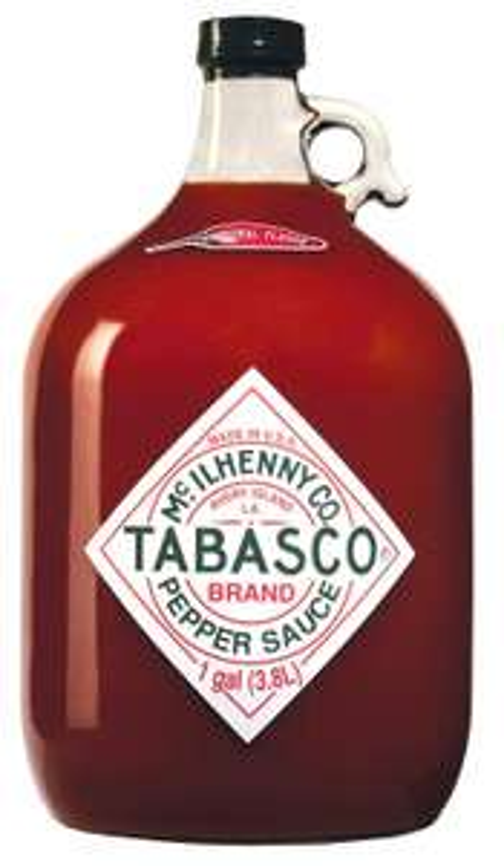 Tabasco Pepper Sauce - 3780 ml / 3,78 Liter / 1 Gallone