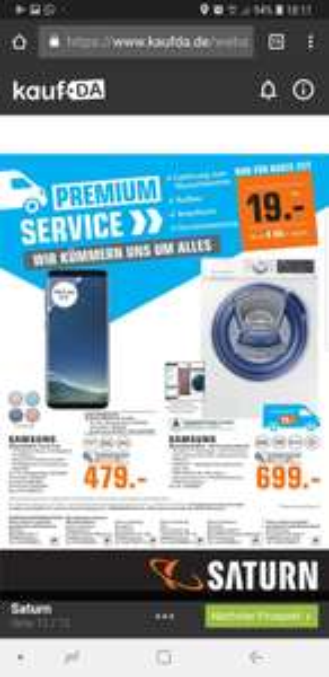 Samsung S8 für 479 Euro ( Lokal Hamburg)