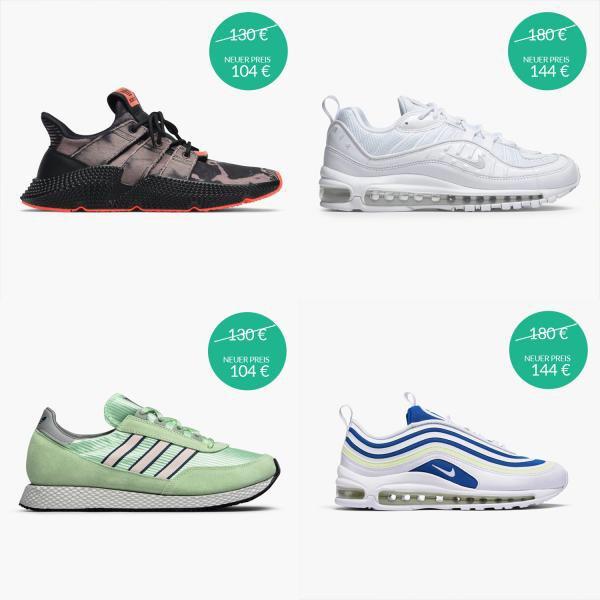 20% auf neue Sneaker bei Caliroots