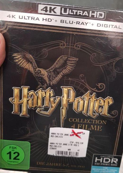 (Lokal) Harry Potter 5-7 UHD BluRay + BluRay (MediaMarkt Bochum Ruhrpark)