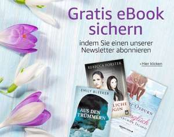 Amazon Kindle - Gratis eBook bei Anmeldung zum Newsletter